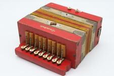 Vintage Tombo Wooden Accordion *Japan* Miniature Size 8 X 6 Rare