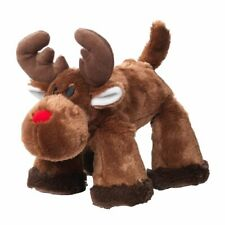 House of Paws Christmas Big Paws Reindeer Dog Toy   Squeaky Large Brown Rudolph