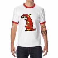 New Men's Funny Rocket Raccoon T-Shirt Cotton Short Sleeve Fashion Tops Tee