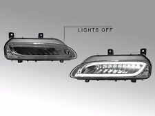 USA 09-12 Porsche 911 997 Carrera Panamera Light Bar LED Smoke Bumper DRL Signal