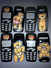 Mobile Phone Fascia / Housing / Cover For Nokia 3310 / 3330 - Bad Taste Bears