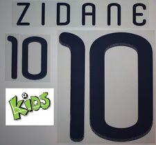 Frankreich France Flock Away Adidas Kinder-Kids-Trikot Zidane WM2010-QualiEM2012