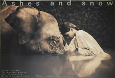 GREGORY COLBERT - Girl with Elephant - Art Print Poster 24x36