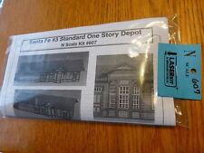 American Model Builders N #607 Standard One Story Depot (kit Form)