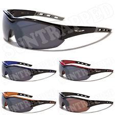 Gafas de sol para hombre X Loop Negro Deportes Lente Carbón-Ciclismo pesca conducción