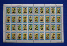 Palau (#121B-E) 1987 Butterflies MNH sheet