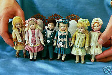"4"" Reproduction Antique Doll Molds by Doreen Sinnett"