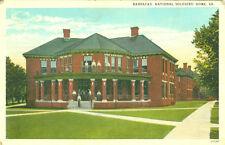 Hampton,VA. The Barracks,National Soldiers Home 1937