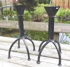 rustikale deko kerzenst nder teelichthalter aus metall g nstig kaufen ebay. Black Bedroom Furniture Sets. Home Design Ideas