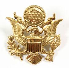 Aigle de coiffure officier US ARMY US WW2  (matériel original)
