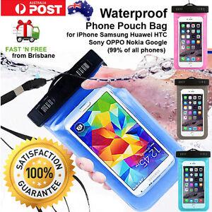 Waterproof Underwater Pouch Bag Phone Case iPhone X 8 7 6 Plus S8 S7 S6 Pixel