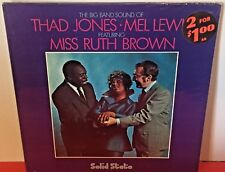 Sealed THAD JONES MEL LEWIS Feat Miss Ruth Brown SOLID STATE Stereo JAZZ LP GF