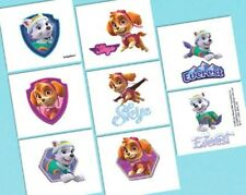 Paw Patrol Girl Pink Birthday Party 16 Tattoos Favors