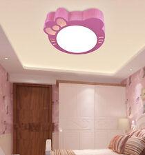 New Modern Kitty Style LED Ceiling Light Pendant Lamp 12W for Kid's Room Bedroom