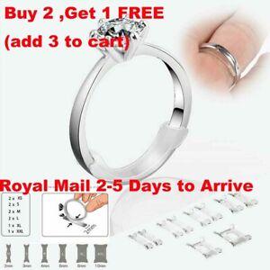 Ring Size Reducer Snugs Clip Guard Snuggies Resizer Adjusters 12 Units UK