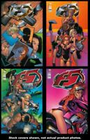 F5 1 2 3 4 Complete Set Run Lot 1-4 VF/NM