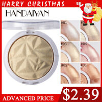 4Colors Highlighter Palette Makeup Face Contour Shading Powder Bronzer HANDAIYAN