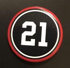"Stan Mikita 1"" Button / Pin #21 Chicago Blackhawks"