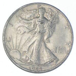 Better 1945-D - US Walking Liberty 90% Silver Half Dollar Coin Set Break *664