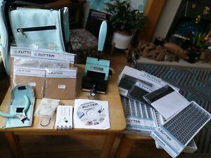 Zutter bind it all Bundle..Bag, Machine, gauges, tool, binders, dvd, paper, card