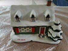 Christmas at Garfields Porcelain House Garfields Christmas Village Danbury Mint