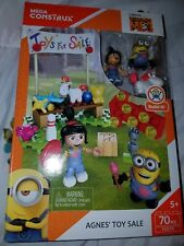 Mega Construct Kid Despicable Me Agnes' Toy Sale Building Set,70 pcs., ages 5+