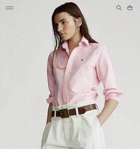 Pink Ralph Lauren Oxford Shirt
