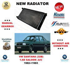 FOR VW SANTANA 32B 1.6 D WITHOUT AIR CON 1982-1983 NEW RADIATOR ** OE QUALITY **