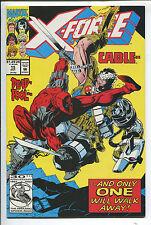 X-Force #15 - Deadpool versus Cable Cvr.! - (Grade NM-) 1992