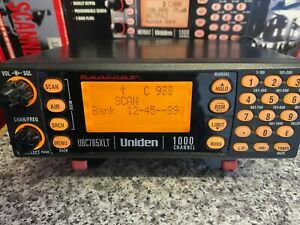 Uniden Bearcat UBC785XLT 1000 Channel VHF/UHF Radio Scanner - Boxed GWO