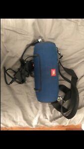 JBL Xtreme Splashproof Bluetooth Portable Speaker - Blue