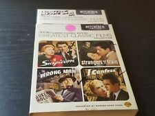 Suspicion / Strangers on a Train / The Wrong Man / I Confess Dvd Tcm Hitchcock