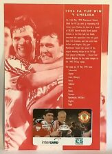 Manchester United Phone Card 1996 Intercard 1994 FA Cup Final Eric Cantona