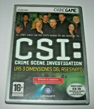 CSI: Las 3 Dimensiones del asesinato PC (Edición española como nuevo)