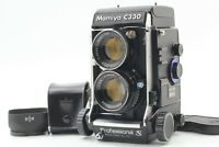 New Seal Near Mint w/Hood Mamiya C330 Pro S w/80mm F2.8 Blue Dot lens From JAPAN
