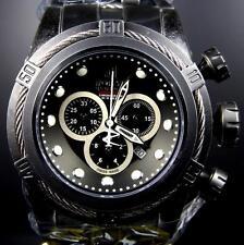 Invicta Jason Taylor JT Reserve Bolt Distressed Industrial Black Swiss Watch New