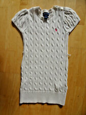 RALPH LAUREN girls cream cable knitted dress AGE 5 YEARS EXCELLENT