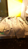 Steve Madden Grey Duffle Coat Style Jacket Womens Size Large Wool Blend Gd Cond