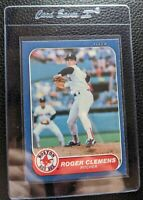 1986 FLEER #345 ROGER CLEMENS 2ND YEAR BOSTON RED SOX