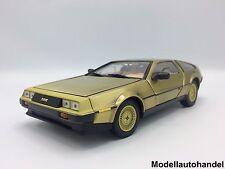 DeLorean dmc 12 1981-ORO - 1:18 SUNSTAR 2702
