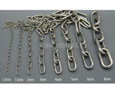 1/16 304 Stainless Steel Long Link Chain 3.28ft one meter