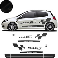 renault Clio Cup -  auto voiture Kit stickers adhésif déco- couleur au choix