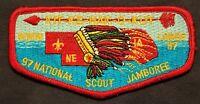 KIT-KE-HAK-O-KUT OA LODGE 97 BSA MID-AMERICA COUNCIL NE 1997 JAMBOREE FLAP