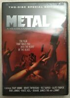 Metal: A Headbanger's Journey 2-Disc Special Edition DVD - Music Documentary