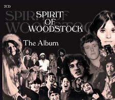Spirit Of Woodstock -The Album (Remember 50 Years Ago 15-18.8.1969) 2CD NEU OVP