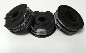 3 X Spool & Line Fits QUALCAST 36v Trimmer Strimmer GT36Li YT7421-03 FAST POST