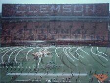 "1985 CLEMSON FOOTBALL MEMORIAL STADIUM POSTER ""DEATH VALLEY"""