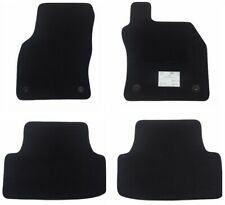 Seat Leon (2013 to 2020) MK3 Tailored Fully Fitted Car Mats, Black, Brand New