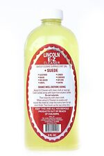 Lincoln E-Z Cleaner Suede Nubuck Satin Leather Nylon Fabric Shoe Cleaner 8 Fl Oz