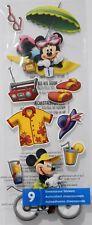 EK Success Disney Vacation 2 Mickey Minnie Craft Scrapbook Sticker Embellishment